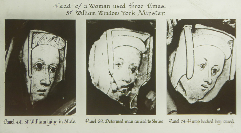 heads of a woman